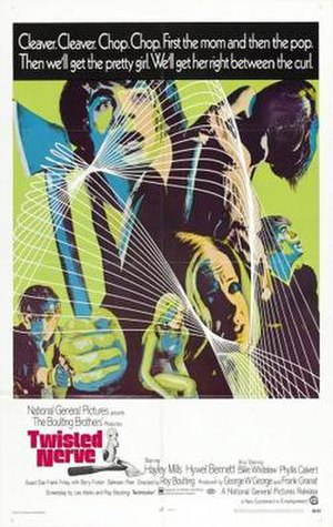 Twisted Nerve - Theatrical release poster