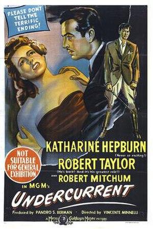 Undercurrent (1946 film) - theatrical film poster