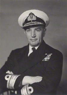 Varyl Begg Royal Navy admiral of the fleet