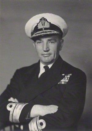 Varyl Begg - Rear Admiral Varyl Begg in 1957