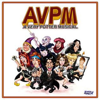 A Very Potter Musical - AVPM soundtrack art