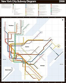 Providence Subway Map.Massimo Vignelli Wikipedia