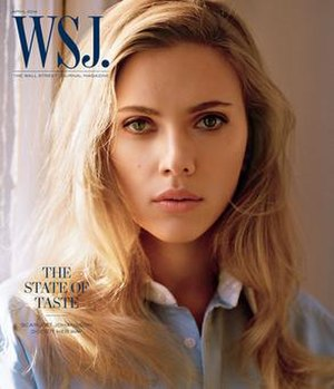 WSJ. - April 2014 Issue feat. Scarlett Johansson