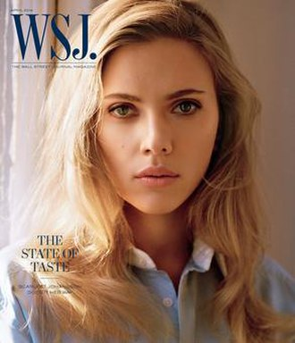 WSJ. - April 2014 issue, featuring Scarlett Johansson