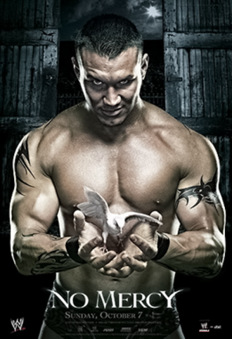 No Mercy (2007) - Promotional poster featuring Randy Orton