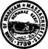 Official seal of Wareham, Massachusetts