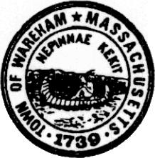 Official seal of Wareham, Massachusetts
