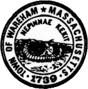Wareham, Massachusetts - Image: Wareham MA seal