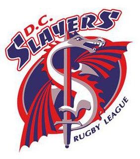 Washington D.C. Slayers US defunct rugby league club, based in Washington DC