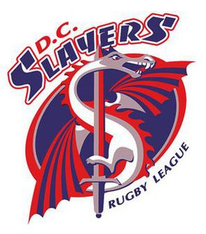 Washington D.C. Slayers - Image: Washington D.C. Slayers logo