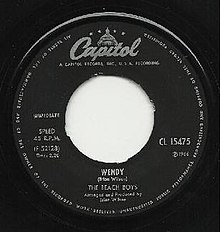 Wendy Beach Boys single label.jpeg