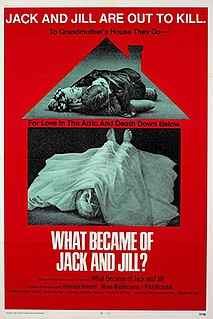 <i>What Became of Jack and Jill?</i> 1972 film