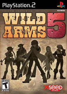 <i>Wild Arms 5</i> 2006 video game