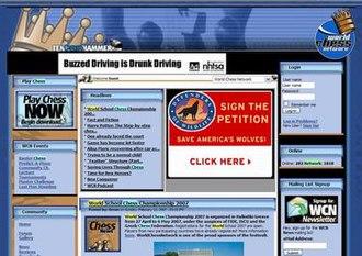 World Chess Network - Image: World Chess Network Screenshot