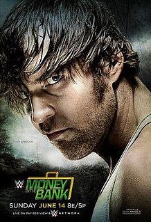 Money in the Bank (2015) 2015 WWE pay-per-view and WWE Network event