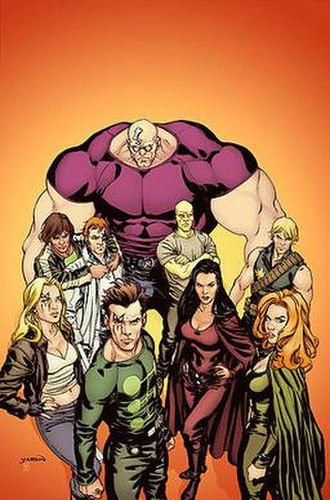 X-Factor Investigations - The X-Factor team. Art by David Yardin.