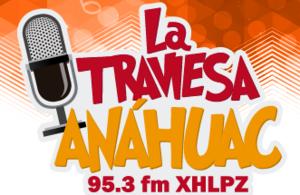 XHLPZ-FM - Image: XHLPZ La Traviesa 95.3 logo