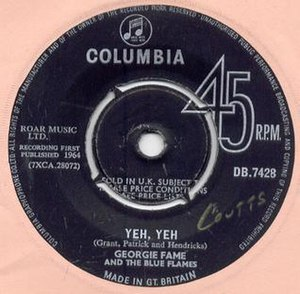 Yeh, Yeh - Image: Yeh yeh georgie fame
