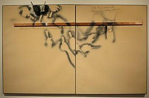 Jim Dine - Image: 'Job 1' by Jim Dine, 1962, Honolulu Museum of Art