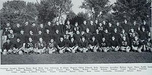 1943 Illinois Fighting Illini football team - Image: 1943 Illinois Fighting Illini football team