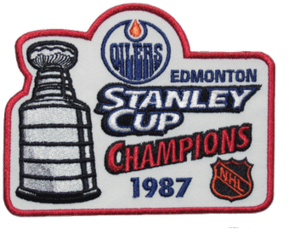 1987 Stanley Cup Finals - Image: 1987 NHL Stanley Cup Playoffs