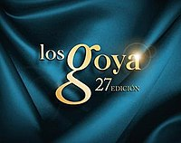27th Goya Awards logo.jpg