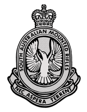 3rd/9th Light Horse (South Australian Mounted Rifles) - Cap badge of the 3rd/9th Light Horse (South Australian Mounted Rifles)