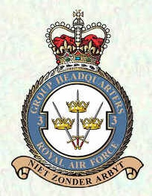 No. 3 Group RAF - Image: 3 Group badge