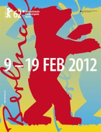 62nd Berlin International Film Festival - Festival poster