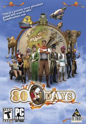 80 Days (2005 video game) - Image: 80 Days PC cover