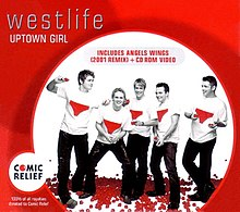 Westlife — Uptown Girl (studio acapella)
