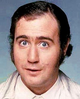 """Andy Kaufman - Arguably his best known act, Andy Kaufman's """"Foreign Man"""" persona was later adapted as the """"Latka Gravas"""" character for the ABC sitcom, Taxi. Though Kaufman's performances on the show were widely praised, even garnering him two Golden Globe Award nominations, Kaufman greatly disliked sitcoms and was unhappy about being so closely identified with Latka, which led him to clash frequently with the show's cast and crew."""