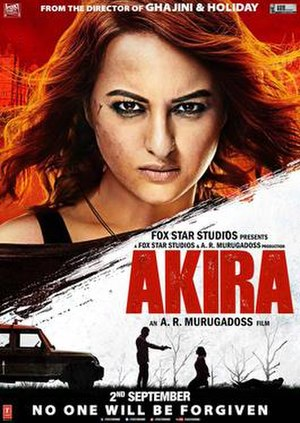 Akira (2016 Hindi film) - Theatrical release poster