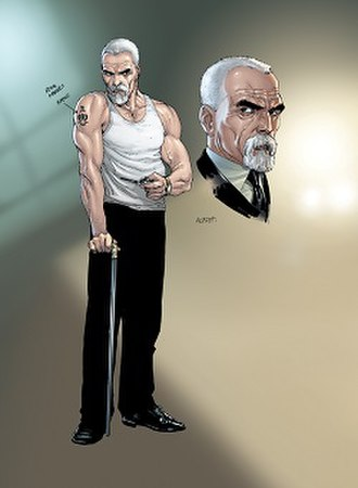 Alfred Pennyworth - Alfred in Batman: Earth One. Art by Gary Frank.