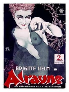 <i>Alraune</i> (1928 film) 1928 German silent science fiction horror film directed by Henrik Galeen