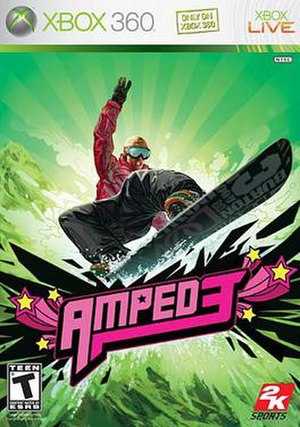 Amped 3 - Image: Amped 3 cover