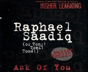 Ask of You - Image: Ask of You Raphael Saadiq