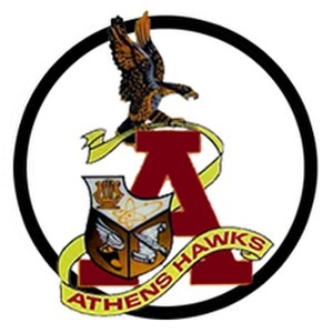Athens High School (Troy, Michigan) - Image: Athenshighschoollogo