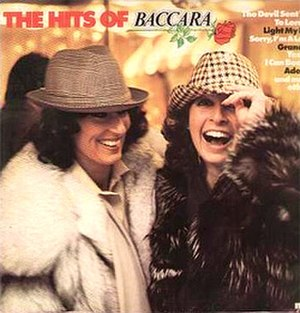 The Hits of Baccara - Image: Baccara The Hits Of Baccara (1978 Colour)