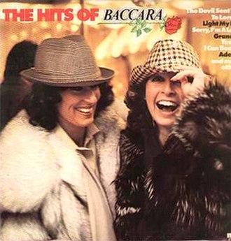 The Hits of Baccara - Image: Baccara The Hits Of Baccara (1978 Colour)