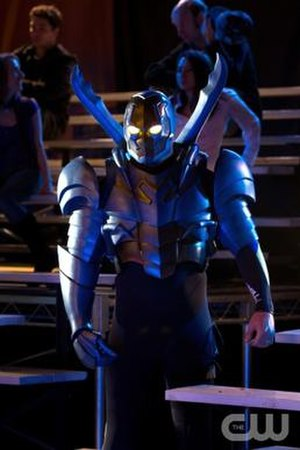Jaime Reyes - Jaren Brandt Bartlett as Blue Beetle (Jaime Reyes) in Smallville