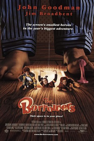 The Borrowers (1997 film) - Theatrical release poster