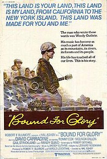 <i>Bound for Glory</i> (1976 film) 1976 film by Hal Ashby