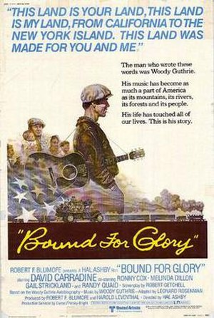 Bound for Glory (film) - Theatrical release poster by Tom Jung