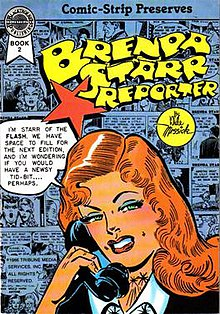 strip reporter Comic