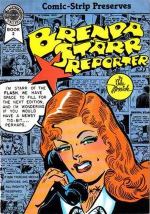 Brenda Starr, Reporter - Image: Brendamessick