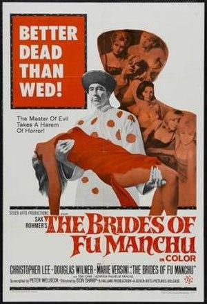 The Brides of Fu Manchu - Original film poster