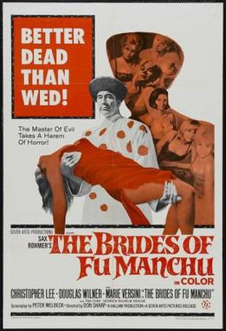 The Brides of Fu Manchu - Theatrical release poster