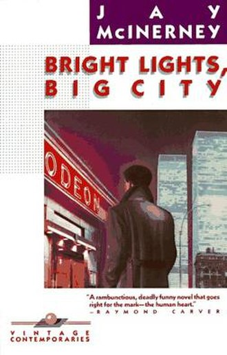 Bright Lights, Big City (novel) - Image: Bright Lights Big City