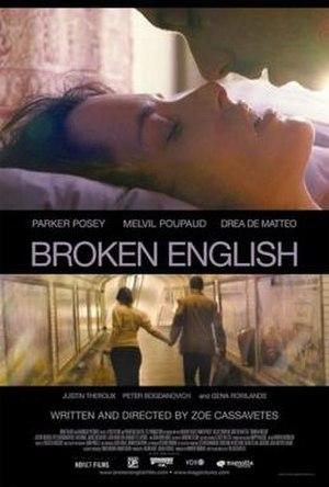 Broken English (2007 film) - Promotional poster